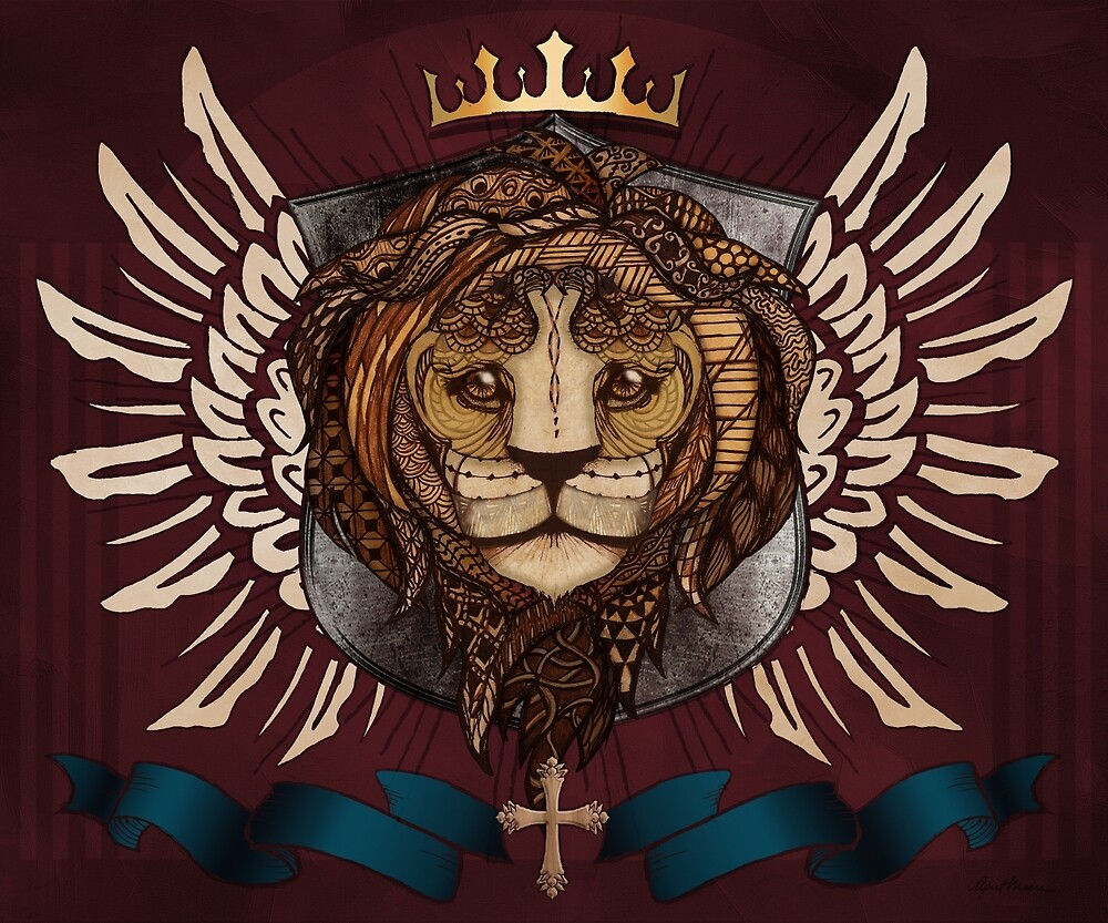 The King's Heraldry by April  Moen