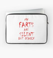 Silent But Deadly Laptop Sleeve