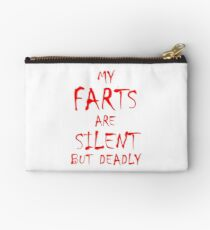 Silent But Deadly Studio Pouch