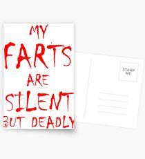 Silent But Deadly Postcards