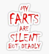 Silent But Deadly Sticker
