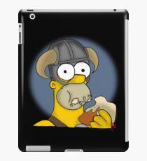 Homer Simpson - Sweet Roll iPad Case/Skin