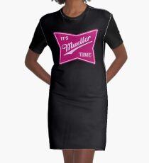 Müller-Zeit PINK T-Shirt Kleid