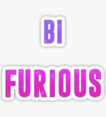 bi furious Sticker