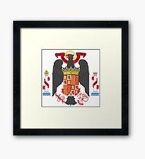 Old Spain Coat of Arms Framed Print