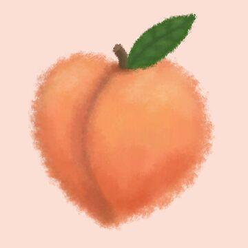 Peach by maryhorohoe