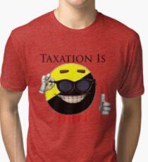 Taxation Is Theft - Ancap Tri-blend T-Shirt