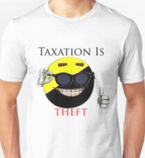 Taxation Is Theft - Ancap Unisex T-Shirt