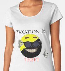 Taxation Is Theft - Ancap Women's Premium T-Shirt