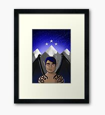 Rhysand of the night court Framed Print