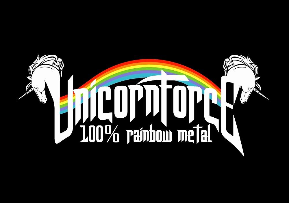 UnicornForce 100% Rainbow Metal by LuisIPT