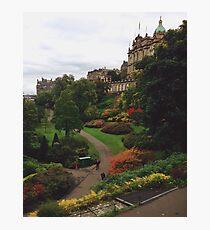 Edinburgh Photographic Print