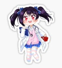 Doctor Nico Sticker Sticker