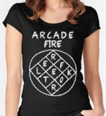 Arcade Fire - Reflektor Women's Fitted Scoop T-Shirt