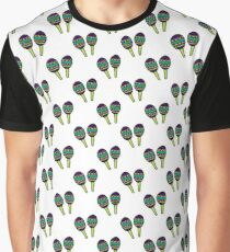 maracas seamless doodle pattern Graphic T-Shirt