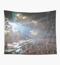 Heavy Metal Concert Wall Tapestry