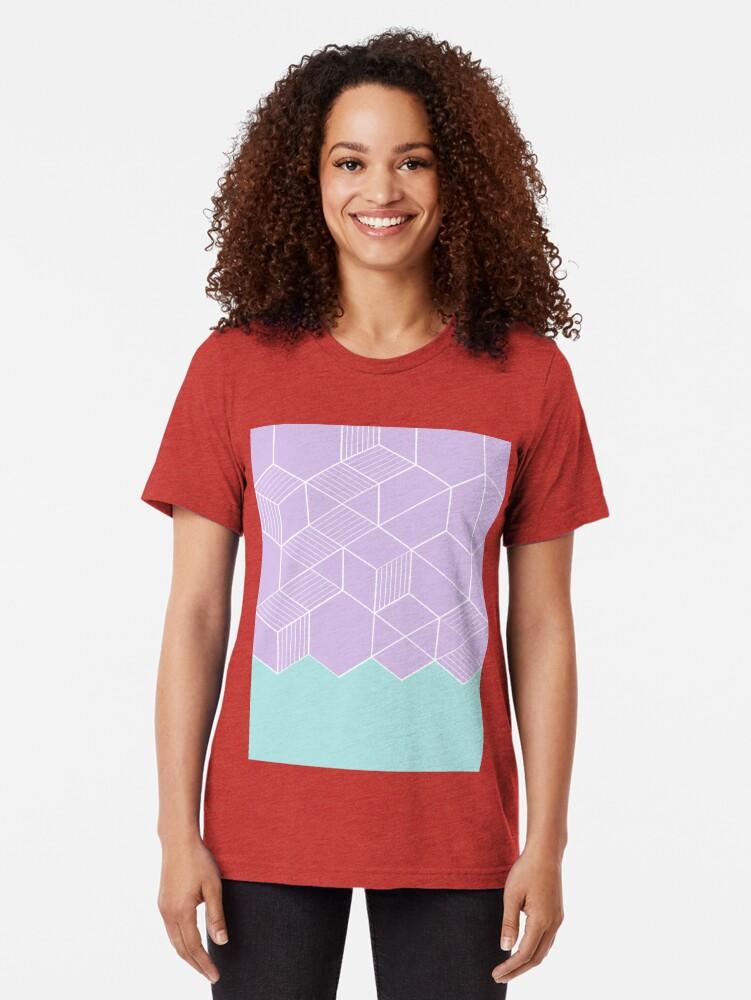 Alternate view of SORBETELILA Tri-blend T-Shirt