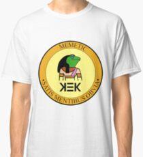 KEK seal of approval Memetic satis mentibus obvia Classic T-Shirt