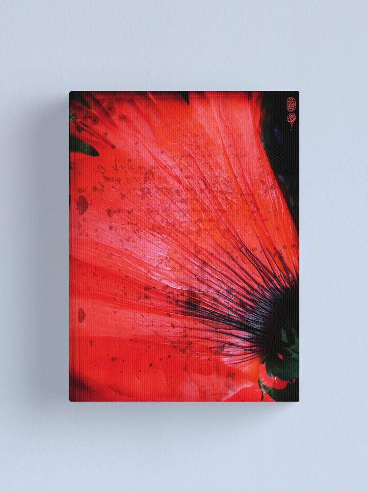 Alternate view of Book Flower Canvas Print
