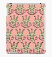 Pink Baphomet Damask iPad Case/Skin
