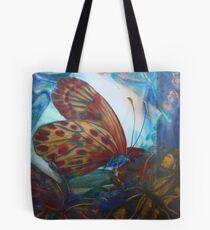 Mixed media: Regarding Lepidoptera Tote Bag