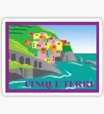 Cinque Terre Sticker