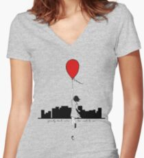Gravity (Don't Mean Too Much To Me) Fitted V-Neck T-Shirt