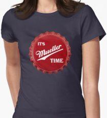 es & amp; s Mueller Time Red Tailliertes T-Shirt für Frauen