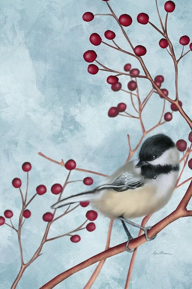 Chickadee I by April  Moen