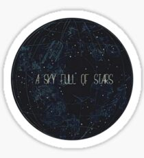 A Sky Full Of Stars Sticker