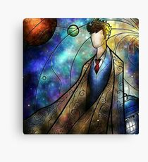 Doctor Who - The Tenth Doctor Canvas Print