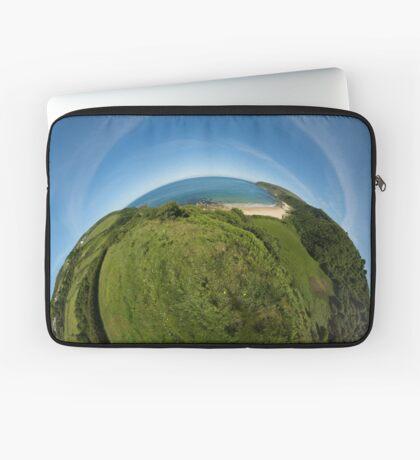 Kinnagoe Bay (as half a planet :-) Laptop Sleeve