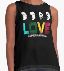 Supernatural Love Contrast Tank