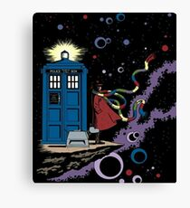 Doctor Who - The 4th Doctor Canvas Print