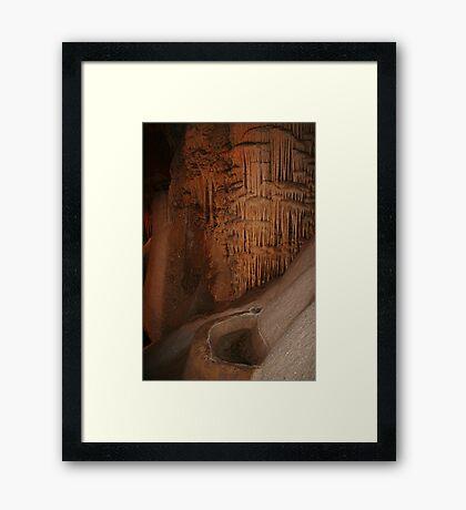 Wombyan Höhlen Gerahmter Kunstdruck