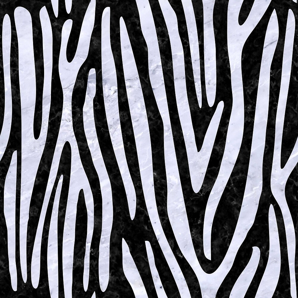 SKIN4 BLACK MARBLE AND WHITE MARBLE (R) by johnhunternance