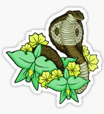 those sly snakes Sticker