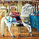 White Carousel Horse by anitahiltz
