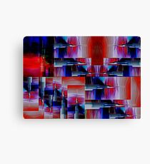 Needlepoint Abstract Canvas Print