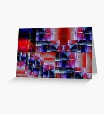 Needlepoint Abstract Greeting Card