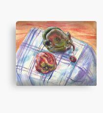 Rotting Vegetables Canvas Print