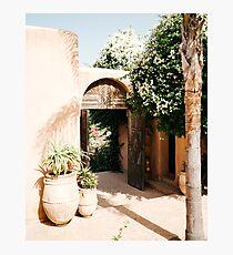 Moroccan design  Photographic Print