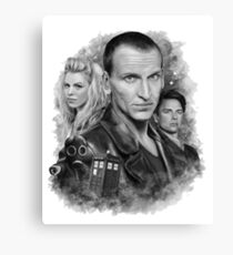 Doctor Who - The 9th Doctor Canvas Print