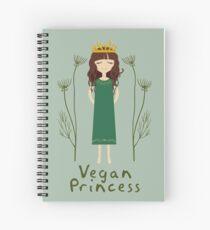 Vegane Prinzessin Spiralblock