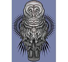Geo Owl Photographic Print