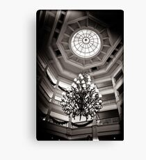 A Grand Entrance at the Grand Floridian Canvas Print