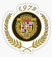 Cadillac Automobile Club 1972 Sticker
