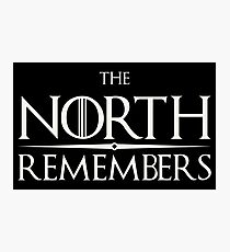 Arya Stark - Game of Thrones - The North Remembers Photographic Print