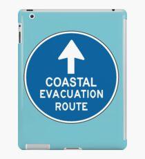 Coastal Evacuation Route iPad Case/Skin