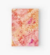 """""""Sunny"""" ~ Abstract Watercolor Painting  Hardcover Journal"""
